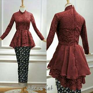 SET  KEBAYA ALICE