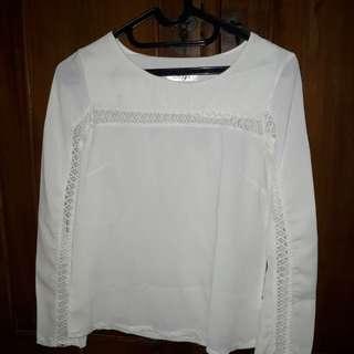 New white blouse