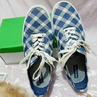 7.5 Bal Dark Blue Shoes PAYLESS