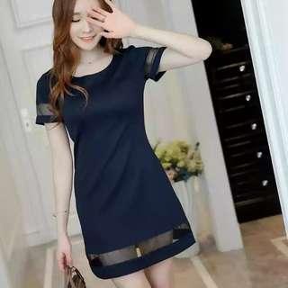 《NEW》Navy Blue Dress