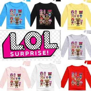 PO LOL Surprise Doll Long Sleeve Tee