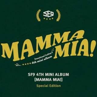 SF9 4th Mini Album : Mamma Mia!