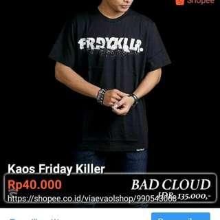 Kaos Distro Fryday Killer
