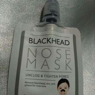 Black Head Nose Mask