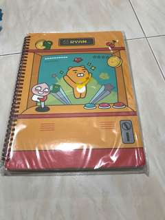 Ryan A4 Spring Note Pad