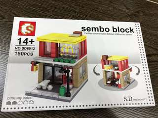Mcdonald Sembo block 150PCS
