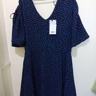 Mango Polka Dress and Zalora Maroon Dress-Brand New