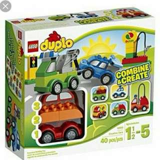 Lego Duplo Creative Car Set