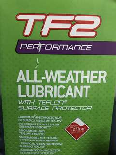 CLEARANCE! TF2 Teflon Bike Chain Lube Performance all weather oil ( bicycle mtb mountain road fixie foldie )