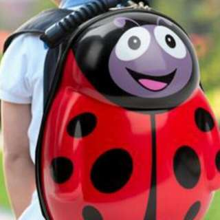RED LADYBUG BACKPACK BAG