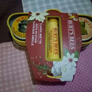 Authentic Burt's bees set