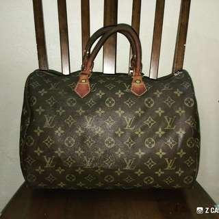 Speedy 35 Bandouliere Louis Vuitton (LV) - Defect