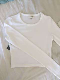 New Aritzia Cropped Shirt