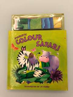 Magnetic Book Colour Safari