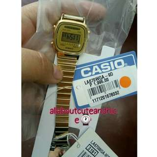 Authentic orig casio vibtagw watch