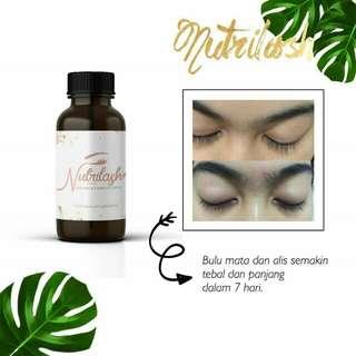 Nutrilash(untuk bulu mata dan alis)