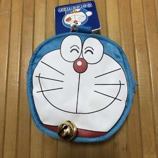 🚚 小叮噹 哆啦A夢零錢包 耳機包 隨身小包