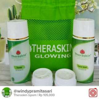 Cream Theraskin  glowing bpom