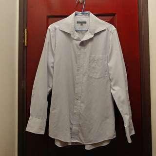G2000 恤衫 (淺紫+白色直紋)