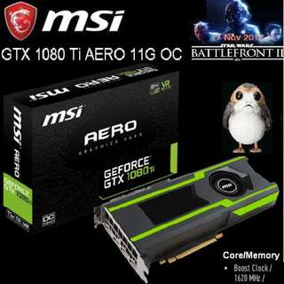 MSI GTX 1080 Ti AERO 11G OC GeForce..*