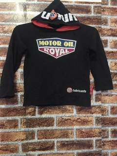 76 lubricants hoodie for kids