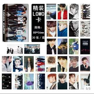 30 pieces BTS LOMO CARD