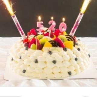 Sparkles fireworks birthday special candles