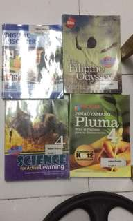 Grade 4 textbooks (k-12 accredited)