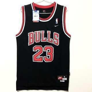 (S) Chicago Bulls #23 Michael Jordan Jersey Black