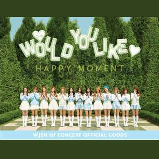 WJSN 1st Concert Goods - Would You Like