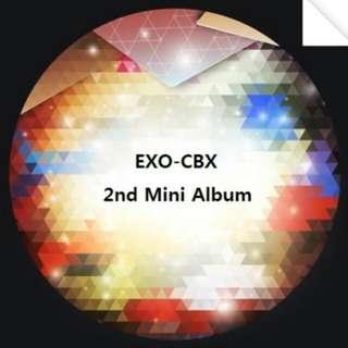 EXO CBX 2nd Mini Album