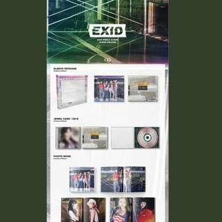EXID Single Album : Do it Tomorrow