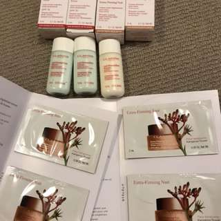 Clarins skin care pack