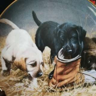 Plates - Gun Dog series