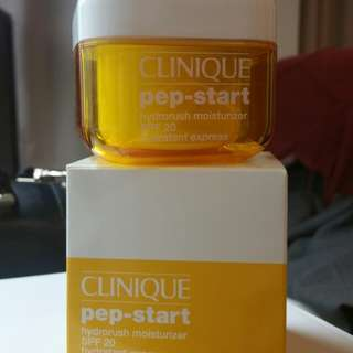Clinique pep-start hydrorush moisturiser