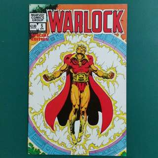 Warlock No.5 comic