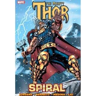 (Brand New) Thor: Spiral  By: Hachette Australia, Joe Bennett (Illustrator), Lan Medina (Illustrator), John Buscema (Illustrator), Sal Buscema (Illustrator) - Paperback