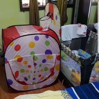Play ball tent
