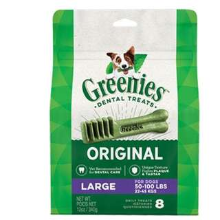 Greenies Dental Treats Original Large 8count (12oz)