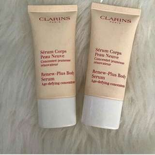 Clarons Renew Plus Body Serum 30ml