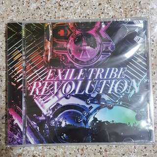 "Exile Tribe CD ""THE REVOLUTIONS"""