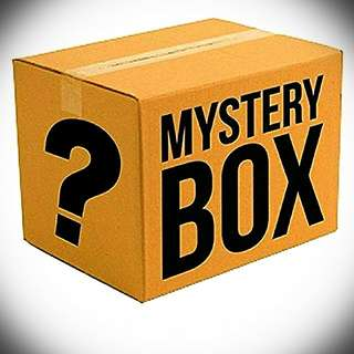 RANDOM ITEMS MYSTERY BOX; SATISFACTION GUARANTEED!! 😉👍