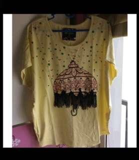 Ebase Yellow Tshirt