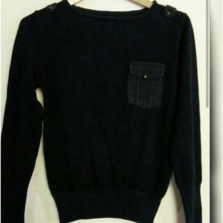 Sweater knit size M