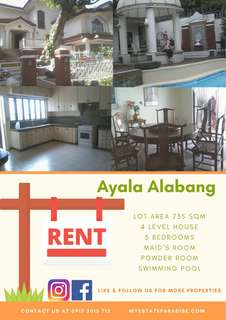 Ayala Alabang for Rent