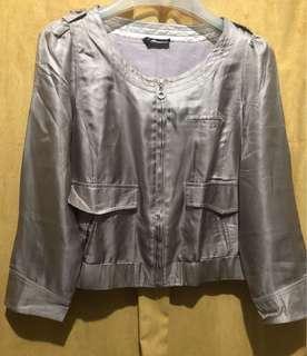 Gucci mini satin blouse