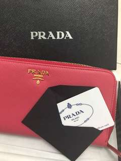New Prada Wallet Italy