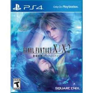 PS4 Game: Final Fantasy X/X-2 HD Remastered