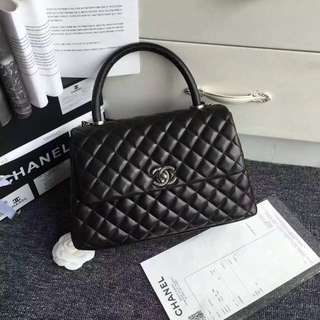 Chanel CC Lambskin handle