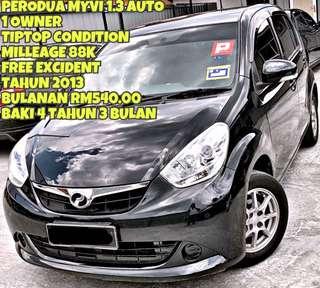 MYVI 1.3 AUTO SAMBUNG BAYAR